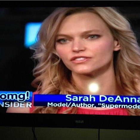 #ThrowBackThursday to going on OMG! Insider & talking about health, fitness, beauty, my book & my love for The @Dove Beauty Campaign. #Health #Fitness #Beauty #BeYOUtiful #SupermodelYou
