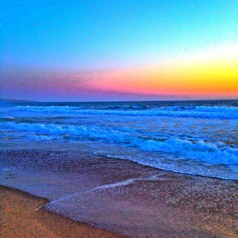 Cherish This Beautiful Planet. #EarthDay #Sunset #Beautiful #Planet #Waves #Ocean #Sunset #Sand #Heaven #Cherish #Precious