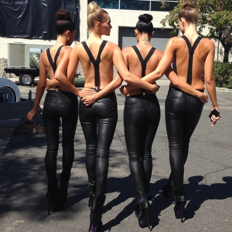 """It was an """"Awesome"""" day that's all I'm allowed to say… #Awesome #AwesomeDay #LAModels #BTS #NoPhotos allowed #Baes #Booties #Beauties"""