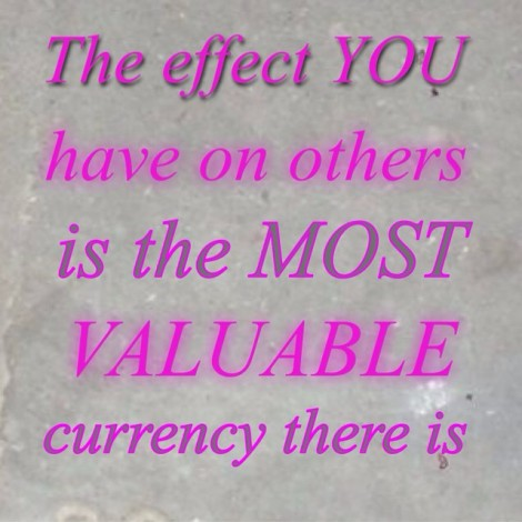 It's not how much money you earn but how many lives you affect. #Success #Wealth #Abundance #Money #MakeADifference #YouAreValuable #TouchLives #JimCarrey #InspirationalQuote