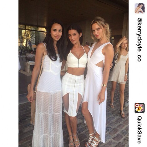 Thank you Kurt Rappaport @sarah2mutch & @steveshawphotos for always hosting such a #Beautiful #Party with #CrazyBeautiful people at such a #BeautifulHome *Reunited with these #HotBabes @TreatsMag #CoverGirls at the #TreatsMagazine #LaborDay #WhiteHot party. Repost from @kerrydoyle_co All dressed in #White @justtnic @supermodelyou @treatsmag #treatsmagazine