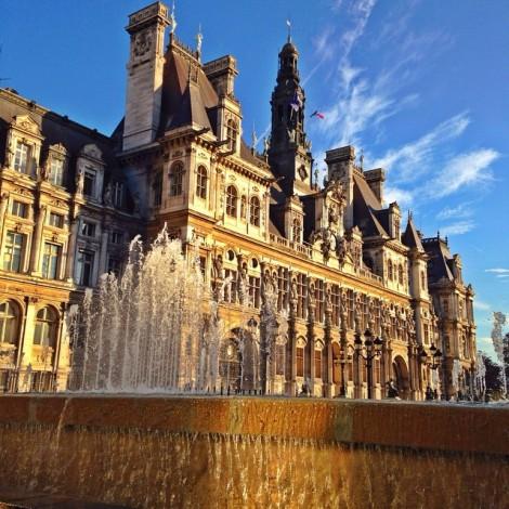 #Magnifique #HotelDeVille #UneAméricaineàParis #Beautiful #Jadore #Paris #JeSuisAmoureuse ️️