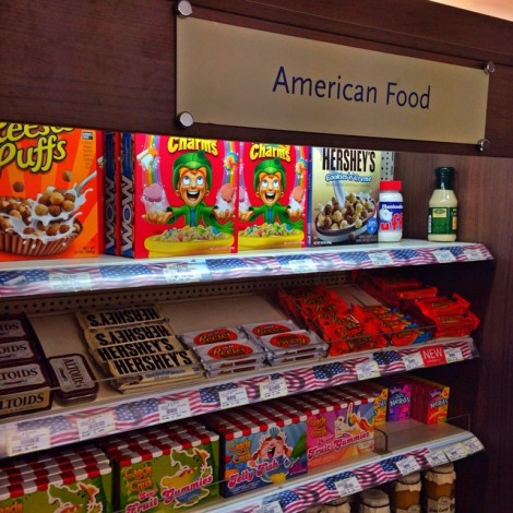 What does American Food look like in France? This is embarrassing!  #AmericanFood #Embarrassing