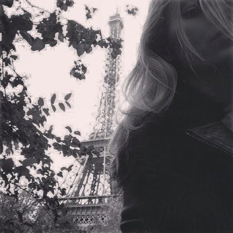 This big metally thing totally photobombed my selfie #Photobombed #Selfie #EiffelTower #TourEiffel #Paris