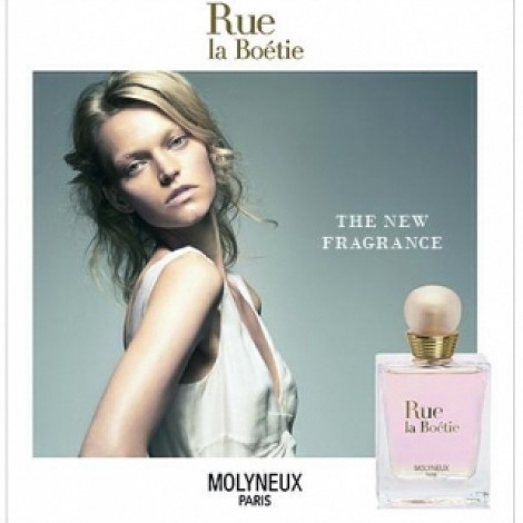"""Some vanity is good. They say without a little vanity, we wouldn't shower everyday, use deodorant or wear perfume… In May this year, Molyneux Paris launched Rue la Boétie, a new floral fragrance for women, with a picture of mine that was taken when I first started modeling. So this is sort of a #TBT """"Memories of a mythical place which pays tribute to Molyneux's collections where they were drawn and revealed. Rue la Boétie, unveils a shinny universe of femininity, and grace where elegance and emotion are combined."""" ~ #Molyneux #RueLaBoetie #PerfumeI like the description: #MythicalPlace #ShinyUniverse #Femininity #Grace #Elegance"""