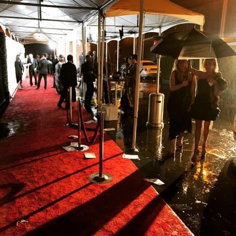 I want to be like a raindrop… Not afraid to fall! #LetItRain #Raindrop #RedCarpet #HeavenGala #ArtOfElysium #CostumeNational #MarinaAbramovic