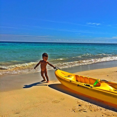 """I have a dream…"" Mine goes a little something like this! #Baby #Boy #Adventurous #Explorer #Tulum #Mexico #Precious #Dream #OneDay #MLK ️"