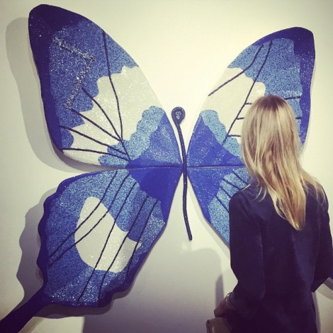 Trust the Transformation. Trust the Universe Little Butterfly.  Beautiful art show tonight @stephaniehirschart @DeReGallery #Transformation #TrustTheUniverse #Universe #YOUniverse #Butterfly